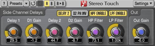 Voxengo Voxengo Stereo Touch - Stereo Width