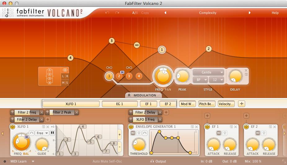 FabFilter FabFilter Volcano 2 - Filter