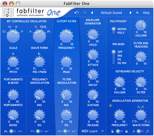 FabFilter FabFilter One - Synth