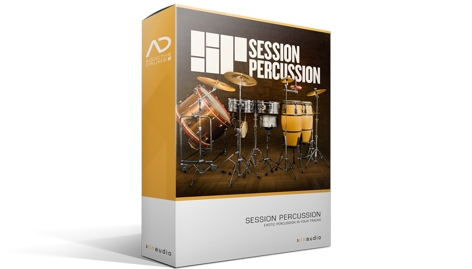 XLN Audio Session Percussion ADpak - Expansion Packs