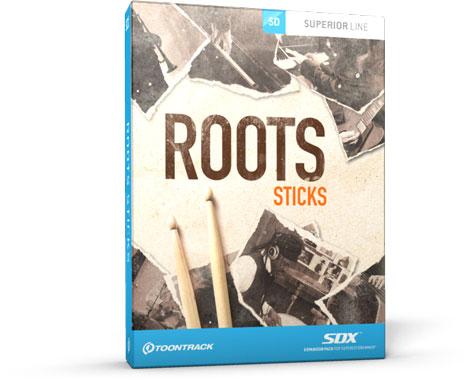 Toontrack_RootsSDX_Sticks_MainImage_PluginBoutique