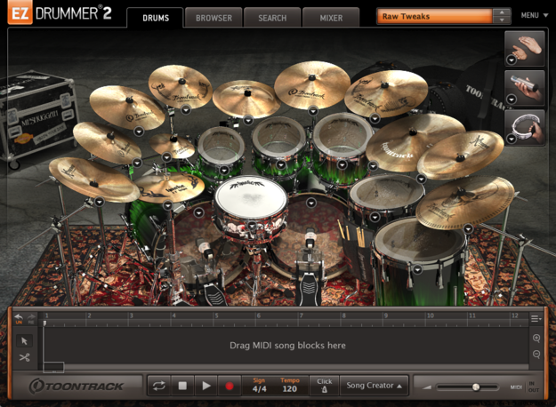 Ez drummer test, metal machine expansion pack youtube.