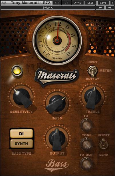 Waves Maserati B72 - Multi-Effect