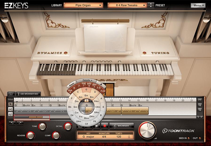 Toontrack EZkeys Pipe Organ - Virtual Instrument