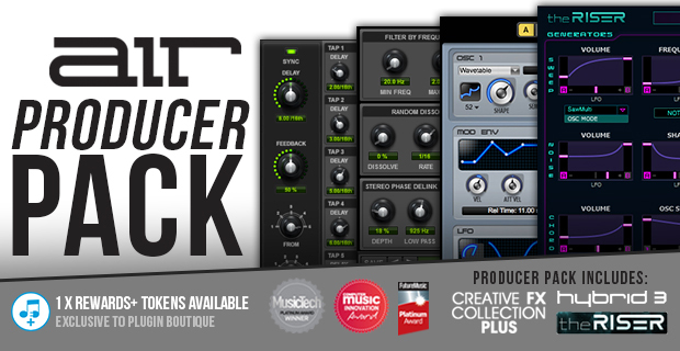 AIR Music Producer Pack + FREE Vault Expansion