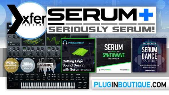 Xfer Serum+ Bundle