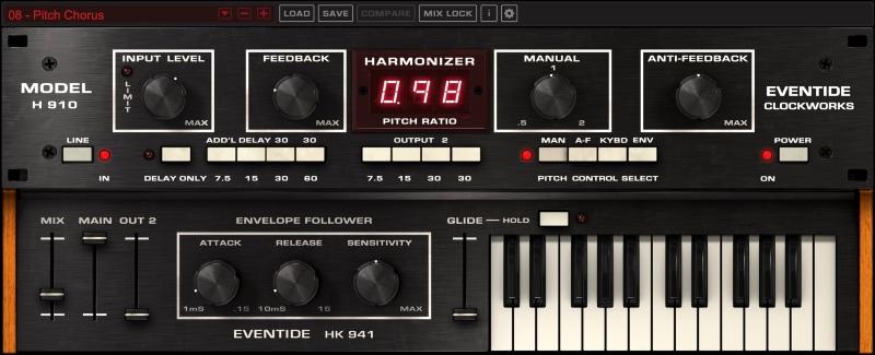 H910 Main User Interface