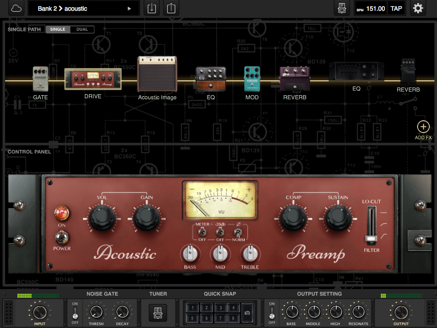Acoustic Expansion Pack Main User Interface 1
