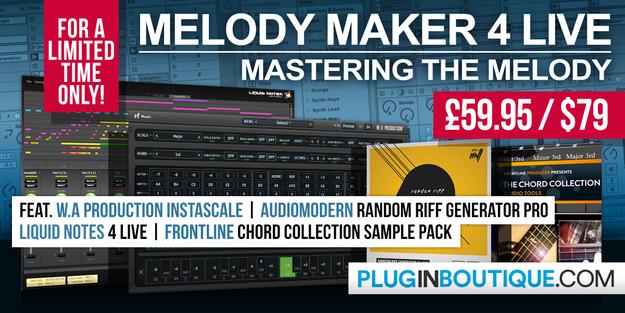 Melody Maker 4 Live Bundle