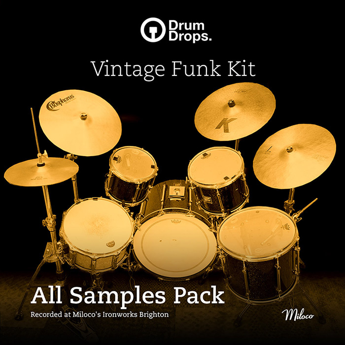 Vintage Funk and Disco Dual Kit