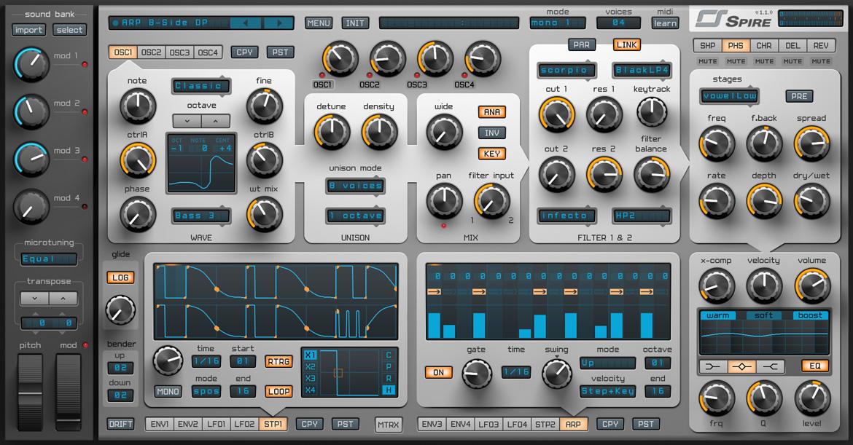 spire by reveal sound vst plugin