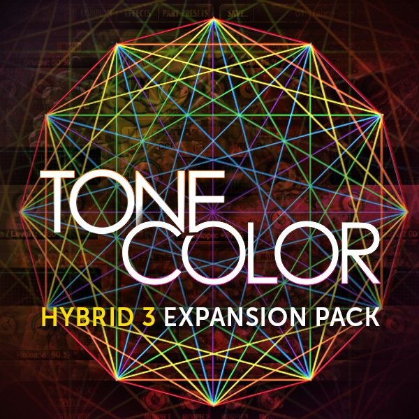 Tonecolour For Hybrid 3 Expansion Packs By Air Music Technology