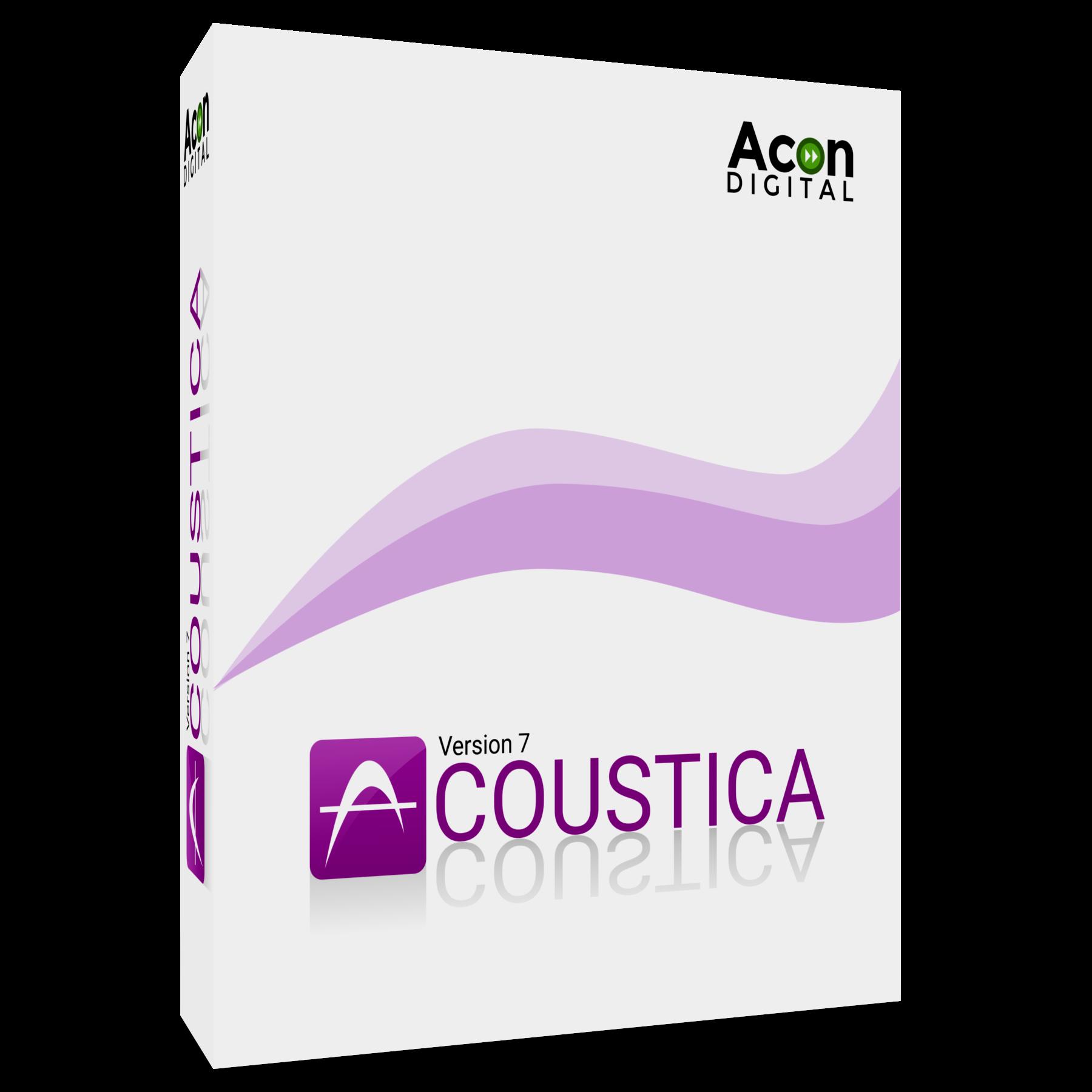 Acon Digital Acoustica 7 Standard Edition - Audio Editor