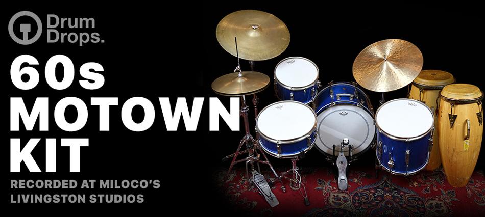 DrumDrops 60s Motown Kit - Virtual Instrument