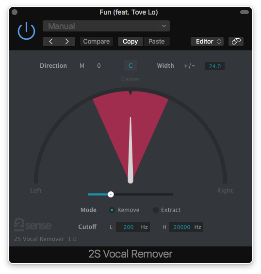 vocal remover for mac os x