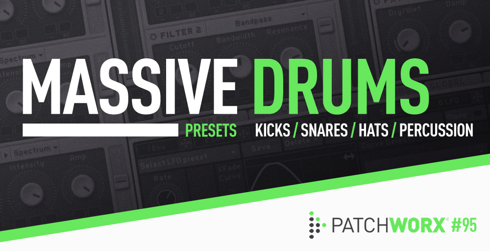 Drum Presets For Massive