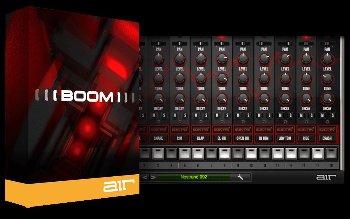 AIR Music Technology Boom - Drum Machine