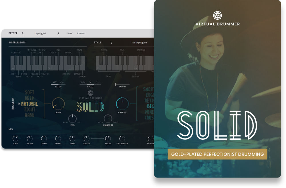 UJAM SOLID - Virtual Instrument