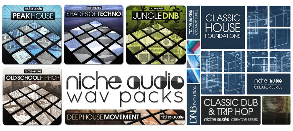 Niche Audio Niche Audio Wav Packs - Sample Packs