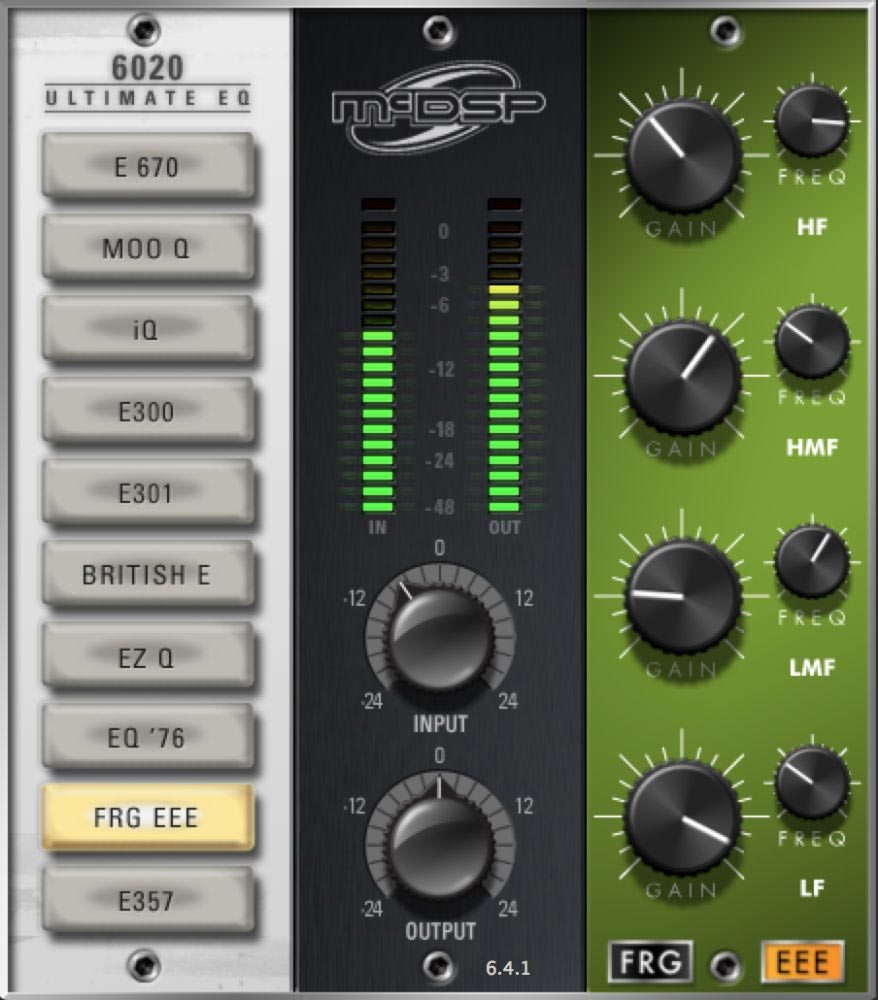 McDSP 6020 Ultimate EQ Native - EQ
