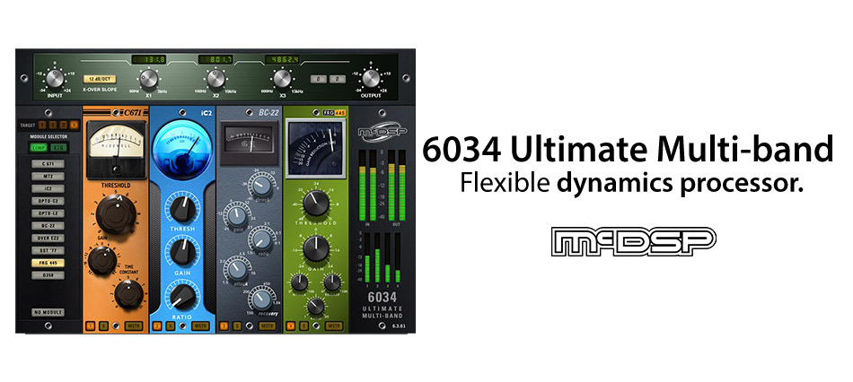 McDSP McDSP 6034 Ultimate Multi-band - Compressor