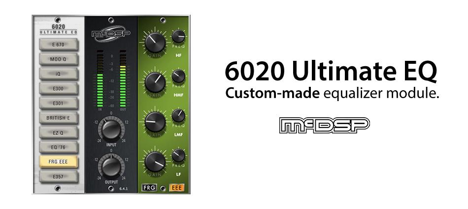 McDSP McDSP 6020 Ultimate EQ - EQ