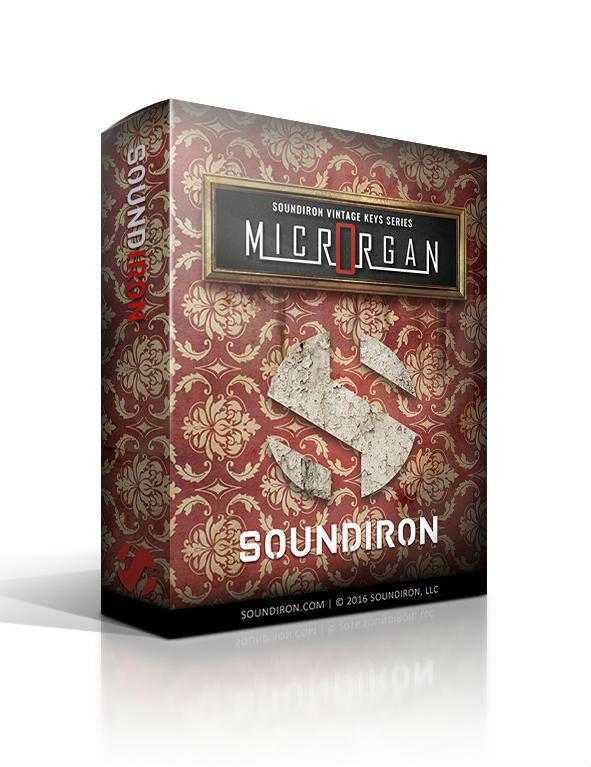 Soundiron Microrgan - Kontakt Instrument