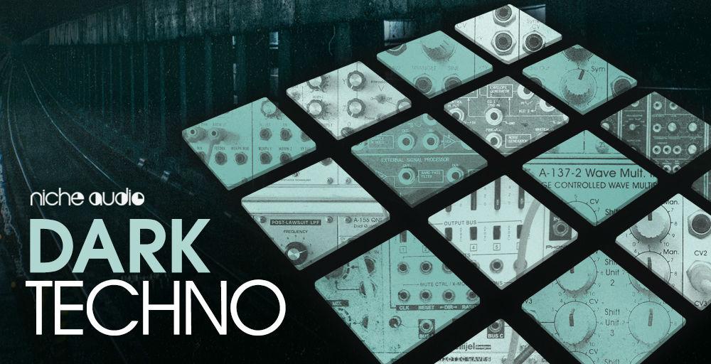 Niche Audio Dark Techno Wav Pack - Sample Packs