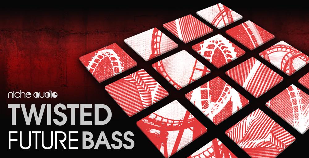Niche Audio Twisted Future Bass - Maschine Expansions
