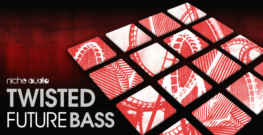 Niche Audio Twisted Future Bass Wav Pack - Sample Packs