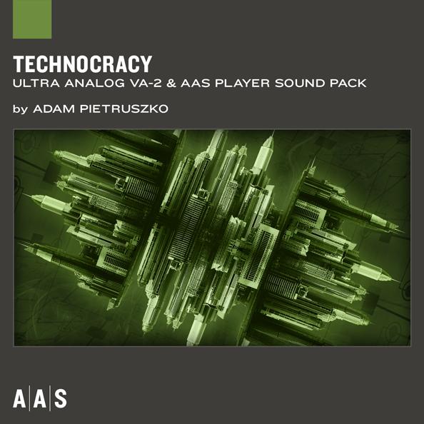 Applied Acoustics Systems Technocracy Ultra-Analog VA-2 Sound Bank - Soft Synth Presets