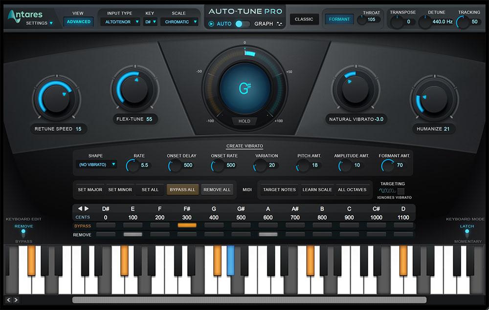 Antares Auto-Tune Pro - Vocal Processing