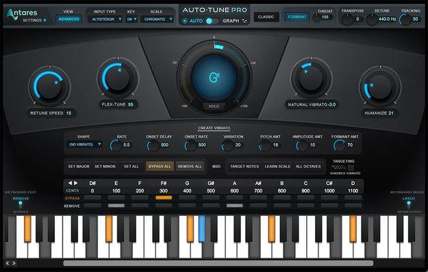 Antares Auto-Tune Pro Vocal Pitch Correction