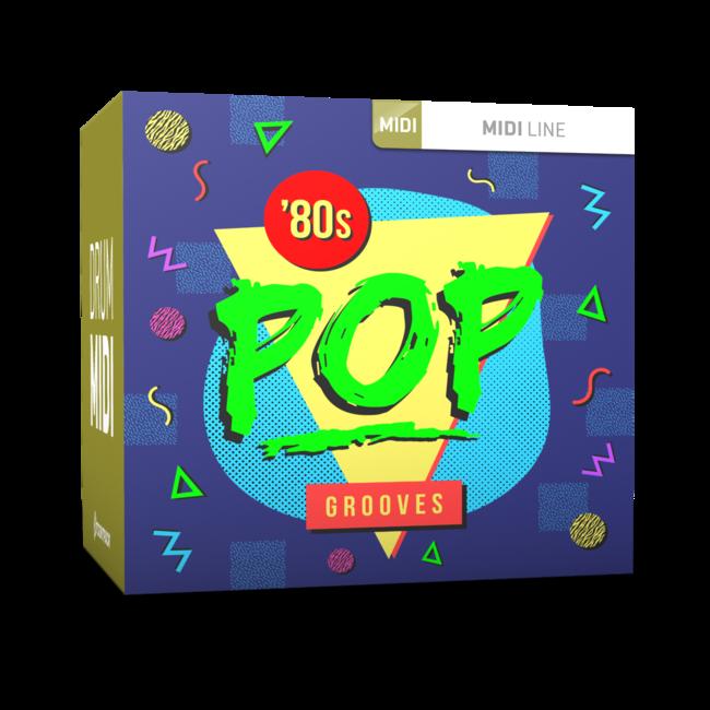 Toontrack Eighties Pop Grooves Drum MIDI - Expansion Packs