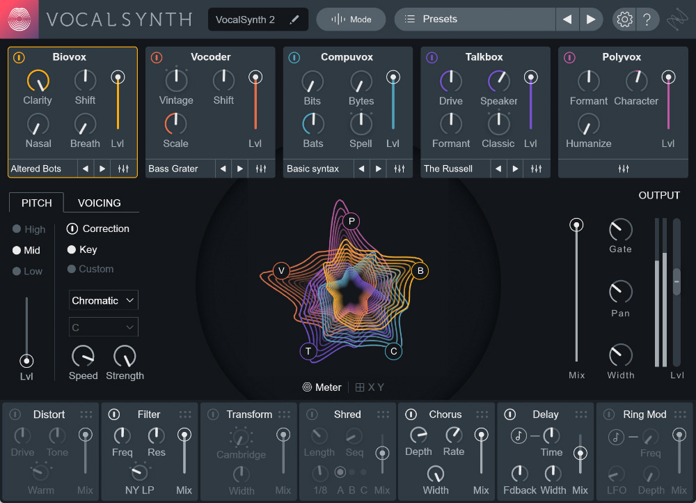 VocalSynth 2 Upgrade from VocalSynth 1