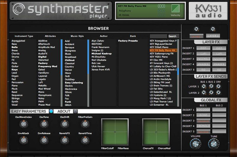 SynthMaster Player FREE