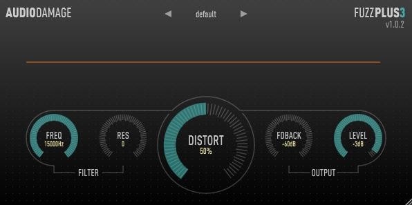 FuzzPlus3 distortion plugin free