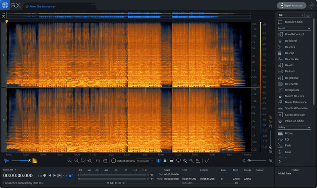 iZotope RX 7 Standard Audio Repair Suite
