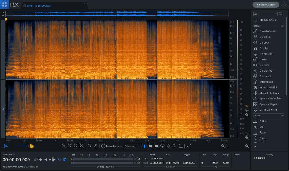 iZotope RX 7 Standard Upgrade from any previous version of RX Standard or Advanc