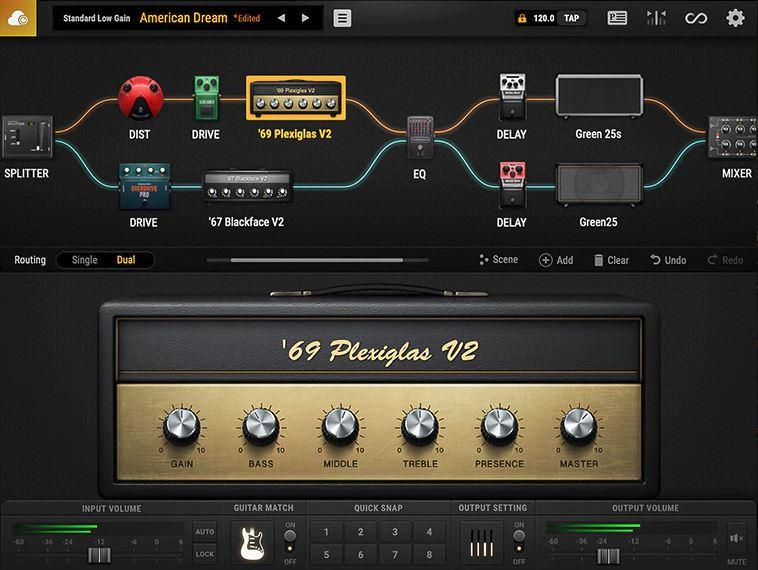 BIAS FX 2 - Main User Interface