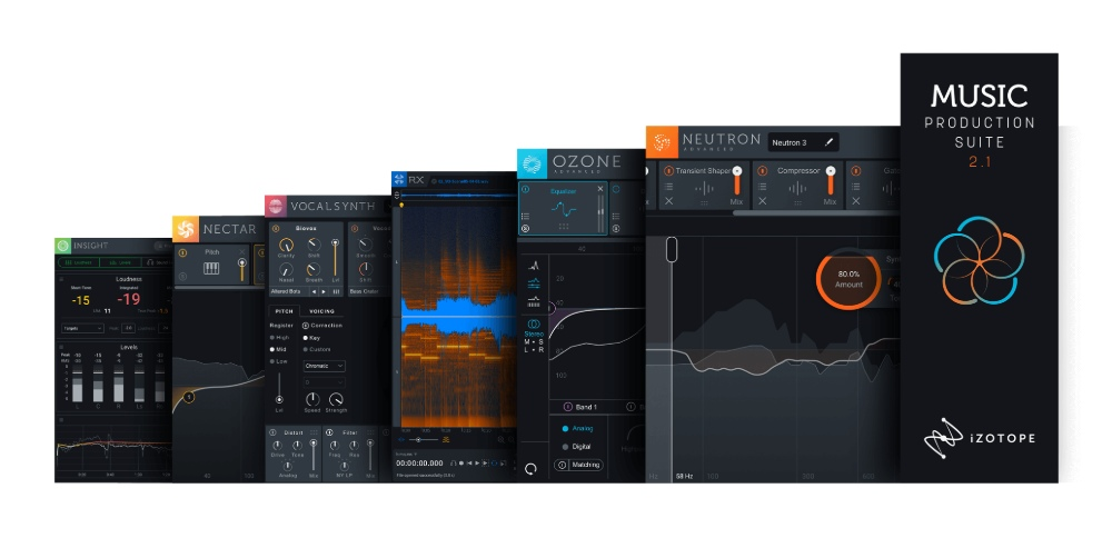 Music Production Suite 2 1 Crossgrade from Ozone 8 Adv, Neutron 3 Adv,  O8N2, Exponential Audio Surround/3d Reverb Bundle (inc  Exponential Audio