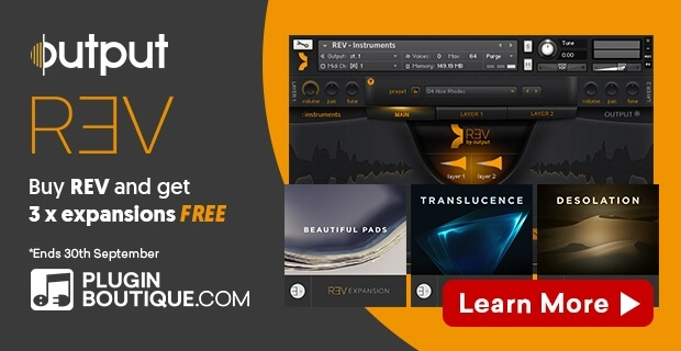 Output REV + 3 FREE Expansions Bundle
