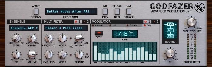 D16 Godfazer - UI - Sequencer