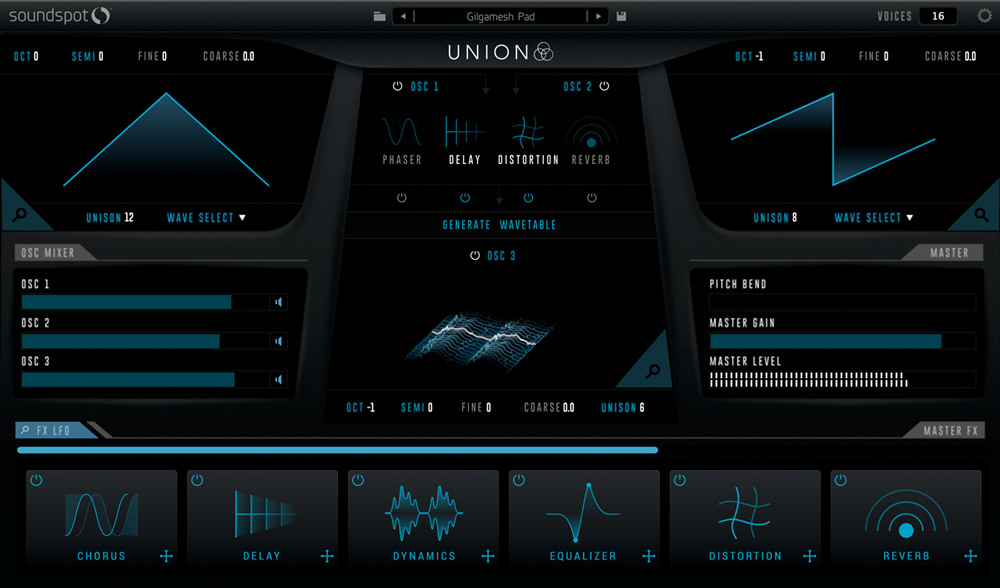 Union - User Interface (Main)
