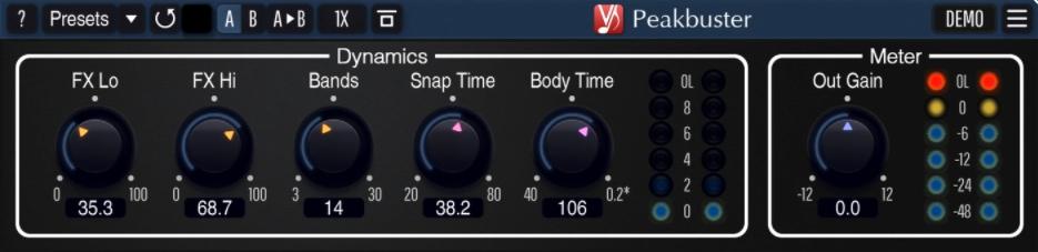 Voxengo Peakbuster - 04
