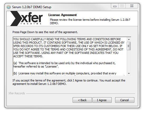 serum demo for windows