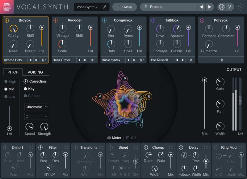 iZotope VocalSynth 2+ Bundle, iZotope VocalSynth 2+ Bundle plugin