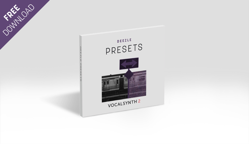 iZotope FREE VocalSynth 2 Presets