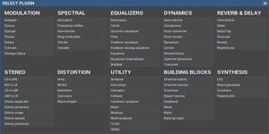 Melda Production MXXX Modular Multi-Effect