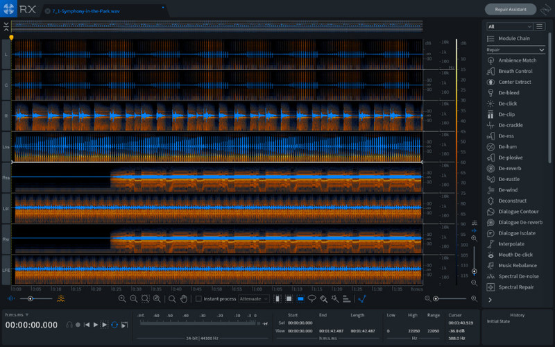 iZotope RX 7 Advanced Audio Repair Suite